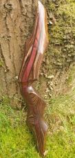 Mittelteil Black Douglas DX 21 LH; Heritage Walnut - Heritage Cocobolo - Heritage Walnut; 3473