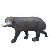3D-Ziel Kleiner Schwarzbär laufend